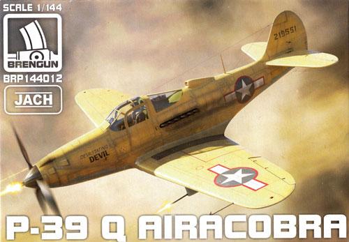 P-39Q エアロコブラプラモデル(ブレンガン1/144 Plastic kits (プラスチックキット)No.BRP144012)商品画像