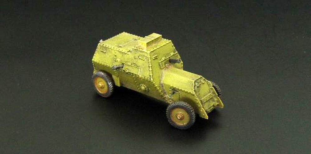 ルッソバルト C型 装甲車レジンキット(ブレンガン1/144 レジンキットNo.BRS144042)商品画像_1