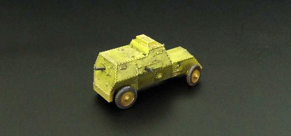 ルッソバルト C型 装甲車レジンキット(ブレンガン1/144 レジンキットNo.BRS144042)商品画像_2