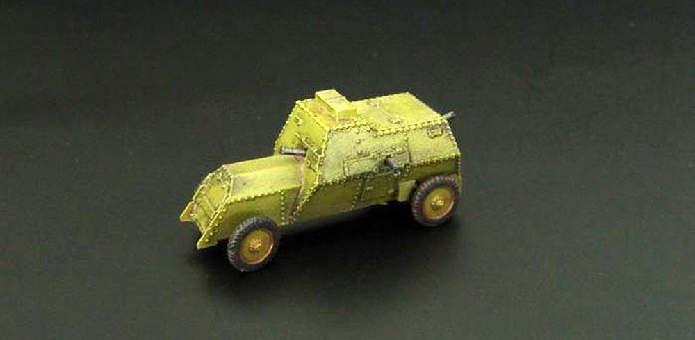 ルッソバルト C型 装甲車レジンキット(ブレンガン1/144 レジンキットNo.BRS144042)商品画像_3