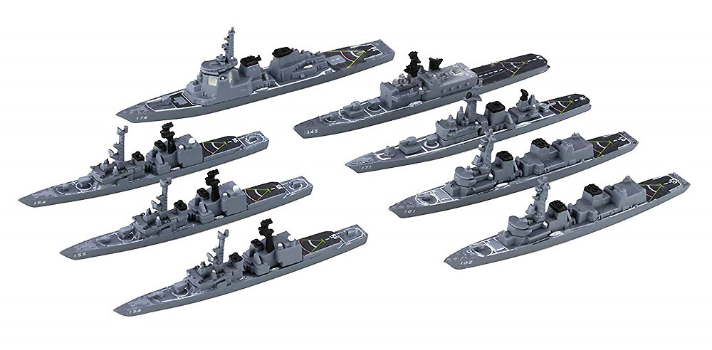 海上自衛隊 第1護衛隊群 1998年プラモデル(フジミ集める軍艦シリーズNo.034)商品画像_2