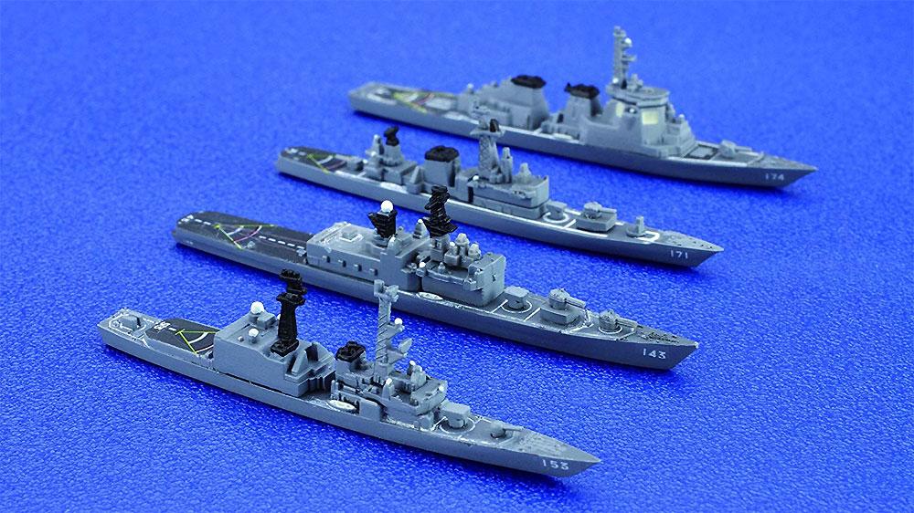 海上自衛隊 第1護衛隊群 1998年プラモデル(フジミ集める軍艦シリーズNo.034)商品画像_3