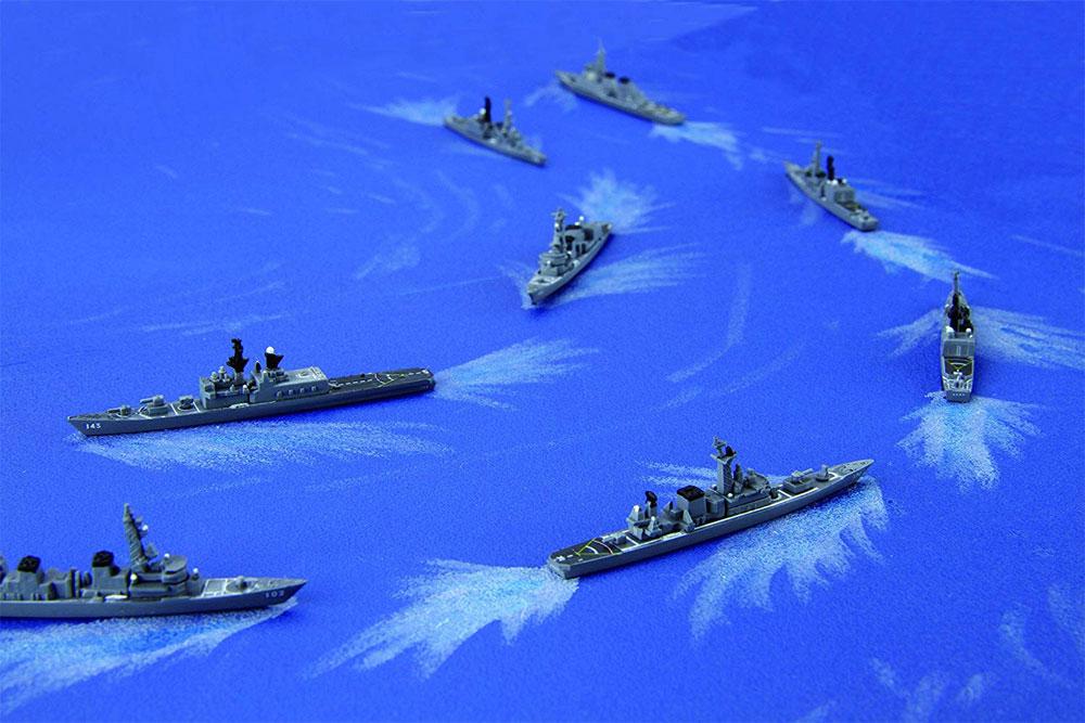 海上自衛隊 第1護衛隊群 1998年プラモデル(フジミ集める軍艦シリーズNo.034)商品画像_4