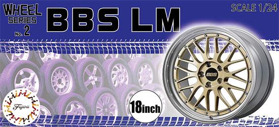 BBS ホイール 17インチプラモデル(フジミホイール シリーズNo.013)商品画像