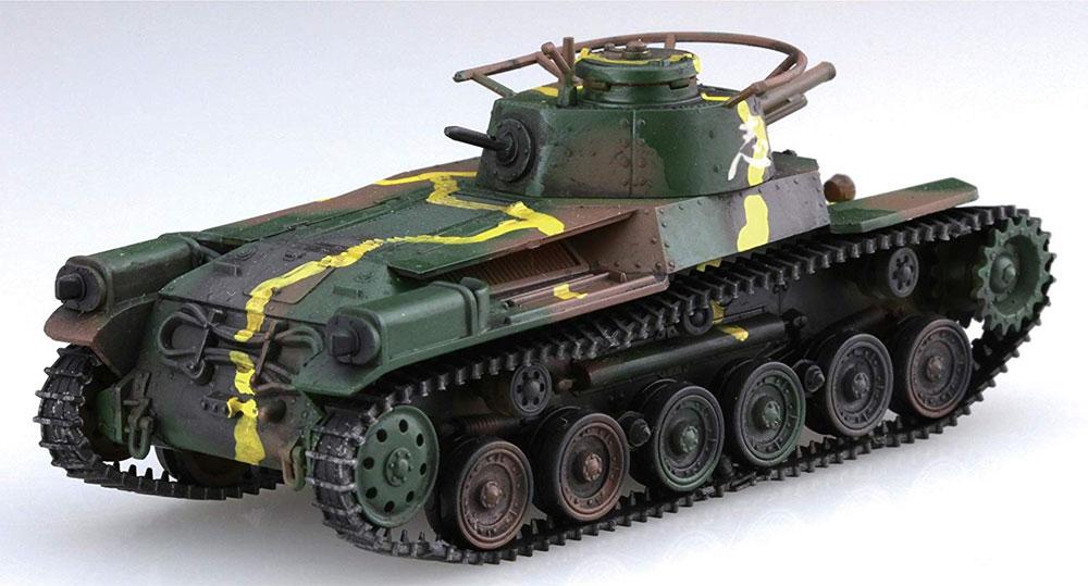 九七式中戦車 チハプラモデル(フジミ1/76 スペシャルワールドアーマーシリーズNo.031)商品画像_4