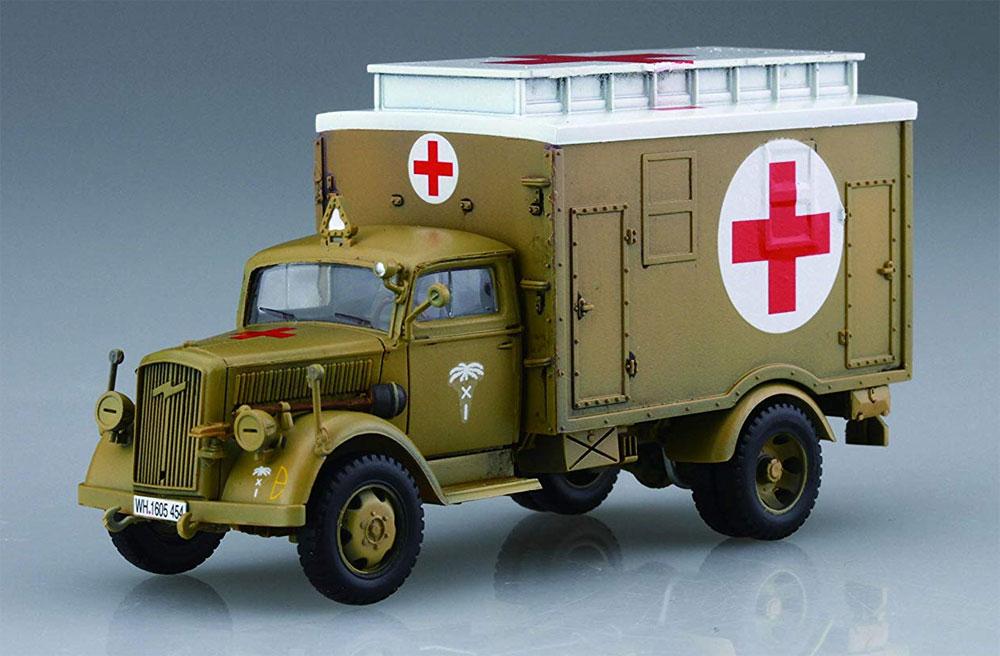 ドイツ軍 3t トラック (箱型救護車/燃料給油車)プラモデル(フジミ1/72 ミリタリーシリーズNo.72M-004)商品画像_2