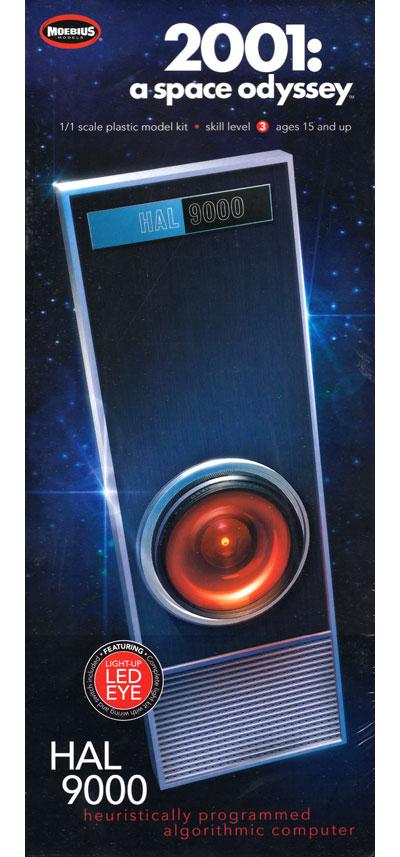 HAL9000 (2001年 宇宙の旅)プラモデル(メビウスメビウス プラスチックモデル組立キットNo.2001-5)商品画像
