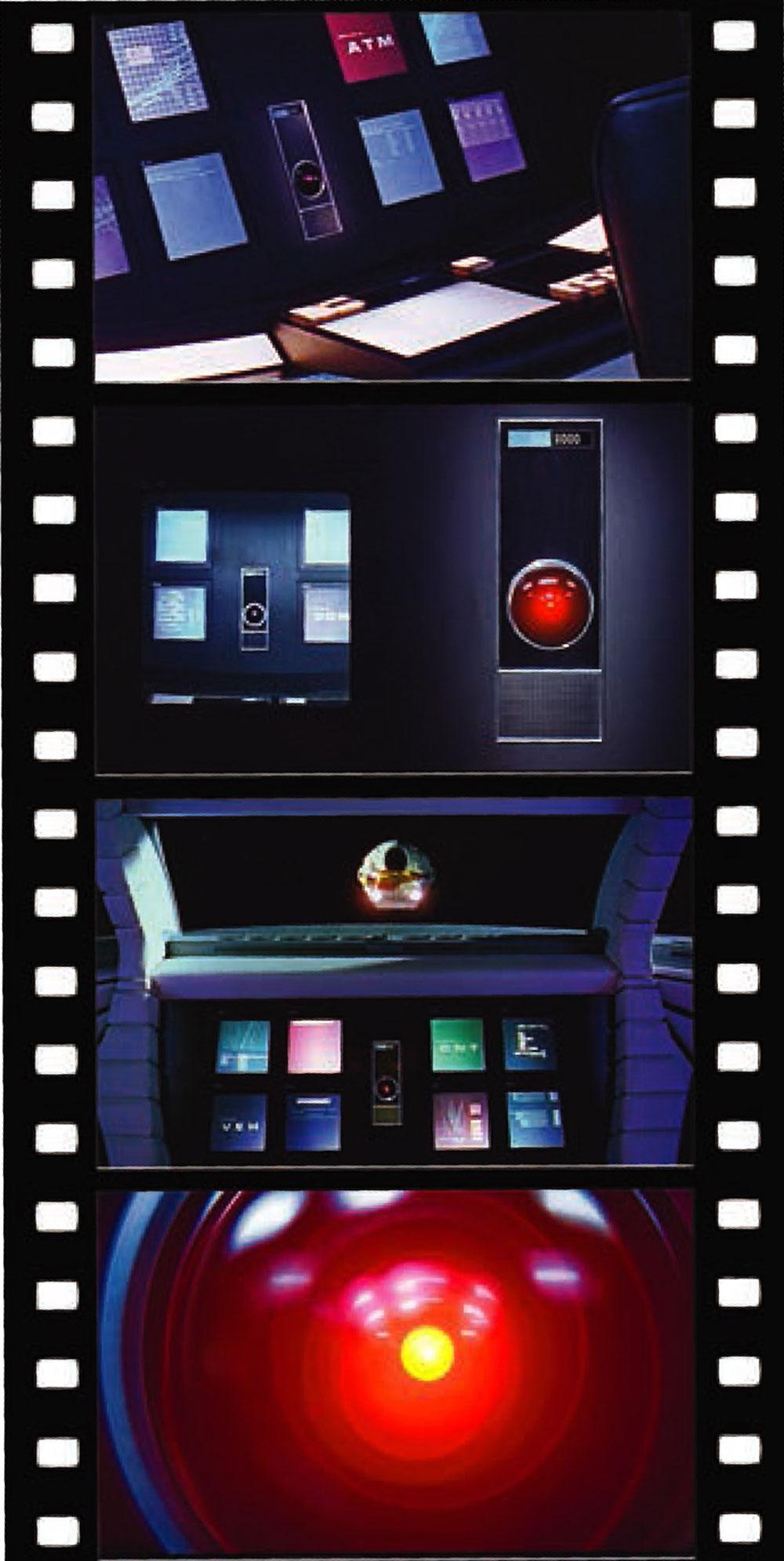 HAL9000 (2001年 宇宙の旅)プラモデル(メビウスメビウス プラスチックモデル組立キットNo.2001-5)商品画像_2