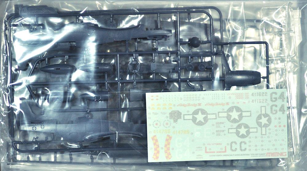 ノースアメリカン P-51D/K 第8空軍プラモデル(MENG-MODELロンギセプス シリーズNo.LS-010)商品画像_1