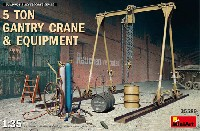 ミニアート1/35 ビルディング&アクセサリー シリーズ5トン ガントリークレーン & 機材各種