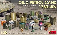ミニアート1/35 ビルディング&アクセサリー シリーズ油 & 石油缶セット 1930-40年代