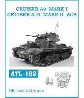 イギリス A9 巡航戦車 Mk.1/A10 巡航戦車 Mk.2 ACS 履帯