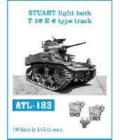 M3 スチュアート軽戦車 T36E6型 履帯