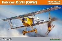 エデュアルド1/72 プロフィパックフォッカー D.7 OAW