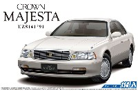 アオシマ1/24 ザ・モデルカートヨタ UZS141 クラウン マジェスタ Cタイプ '91
