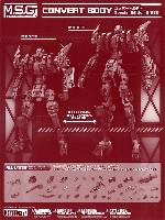 コトブキヤM.S.G モデリングサポートグッズ メカサプライコンバートボディ Special Edition B (RED)
