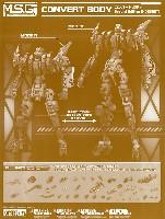 コトブキヤM.S.G モデリングサポートグッズ メカサプライコンバートボディ Special Edition D (DESERT)