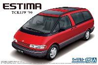 アオシマ1/24 ザ・モデルカートヨタ TCR11W エスティマ ツインムーンルーフ '90