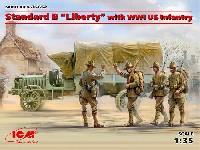 スタンダード B リバティ トラック w/WW1 アメリカ歩兵