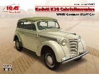 ドイツ オペル カデット K38 カブリオレ スタッフカー