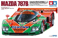 タミヤ1/24 スポーツカーシリーズマツダ 787B