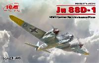 ICM1/48 エアクラフト プラモデルユンカース Ju88D-1 長距離偵察機