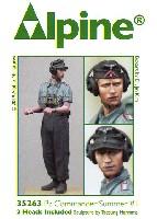 アルパイン1/35 フィギュアWW2 ドイツ陸軍 上着を脱いだ夏場の戦車兵 #1