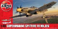 エアフィックス1/48 ミリタリーエアクラフトスーパーマリン スピットファイア FR Mk.14
