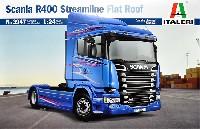 スカニア R400 ストリームライン トラクターヘッド フラットルーフ