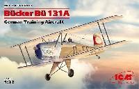 ビュッカー Bu131A ドイツ練習機