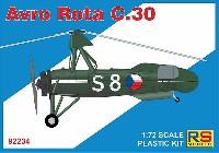 RSモデル1/72 エアクラフト プラモデルアブロ ロータ C.30