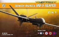 ミニウイング1/144 インジェクションキットジェネラル アトミックス MQ-9 リーパー 2in1