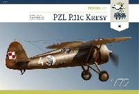 アルマホビー1/72 エアクラフト プラモデルPZL P.11c 東部国境地帯