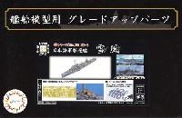 日本海軍 駆逐艦 雪風 エッチングパーツ w/2ピース 25ミリ機銃