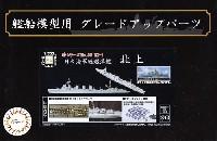 フジミ艦船模型用グレードアップパーツ日本海軍 軽巡洋艦 北上 エッチングパーツ w/2ピース 25ミリ機銃
