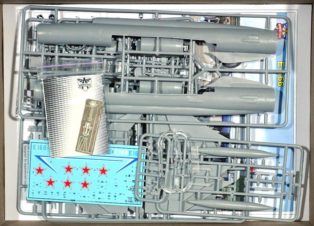 ミグ Ye-166 試作重迎撃機 モニノ空軍博物館プラモデル(モデルズビット1/72 エアクラフト プラモデルNo.72032)商品画像_1