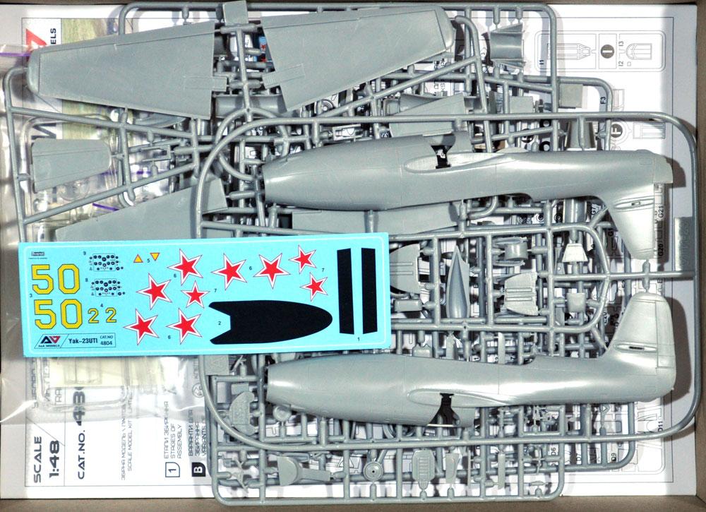 Yak-23UTI 複座練習機プラモデル(A&A MODELS1/48 プラスチックモデルNo.4804)商品画像_1