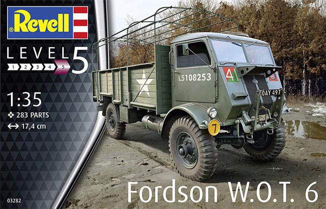 イギリス フォード W.O.T. 6 トラックプラモデル(レベル1/35 ミリタリーNo.03282)商品画像