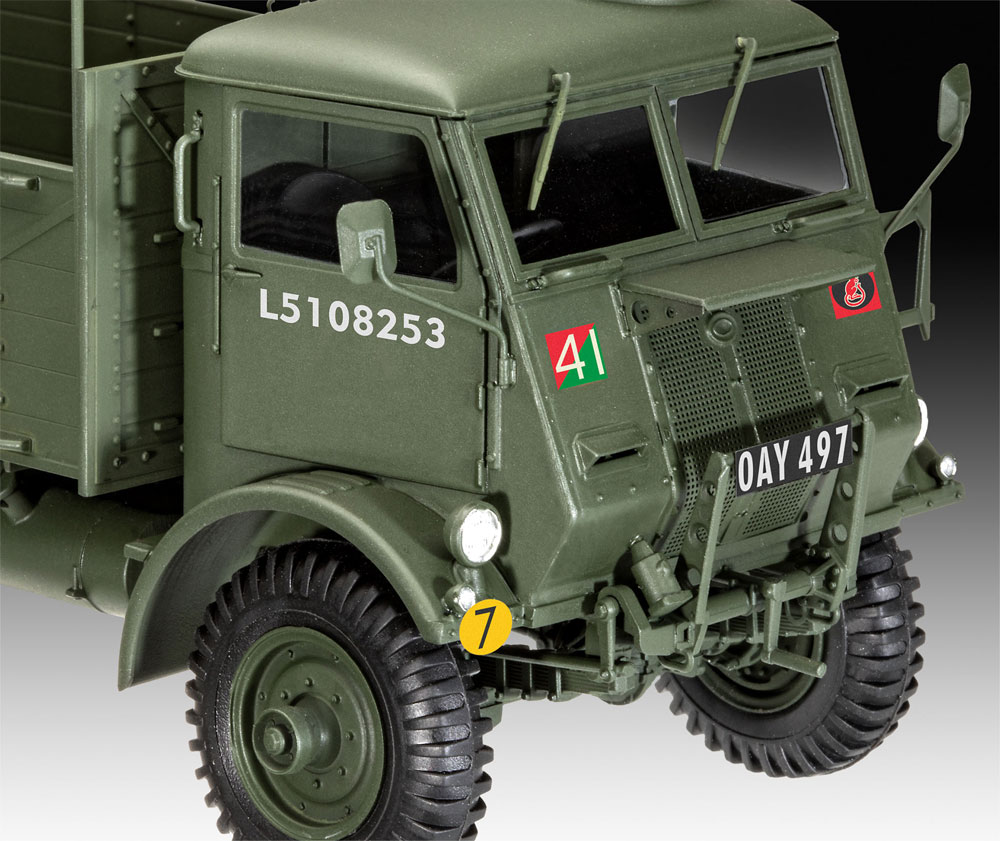 イギリス フォード W.O.T. 6 トラックプラモデル(レベル1/35 ミリタリーNo.03282)商品画像_3