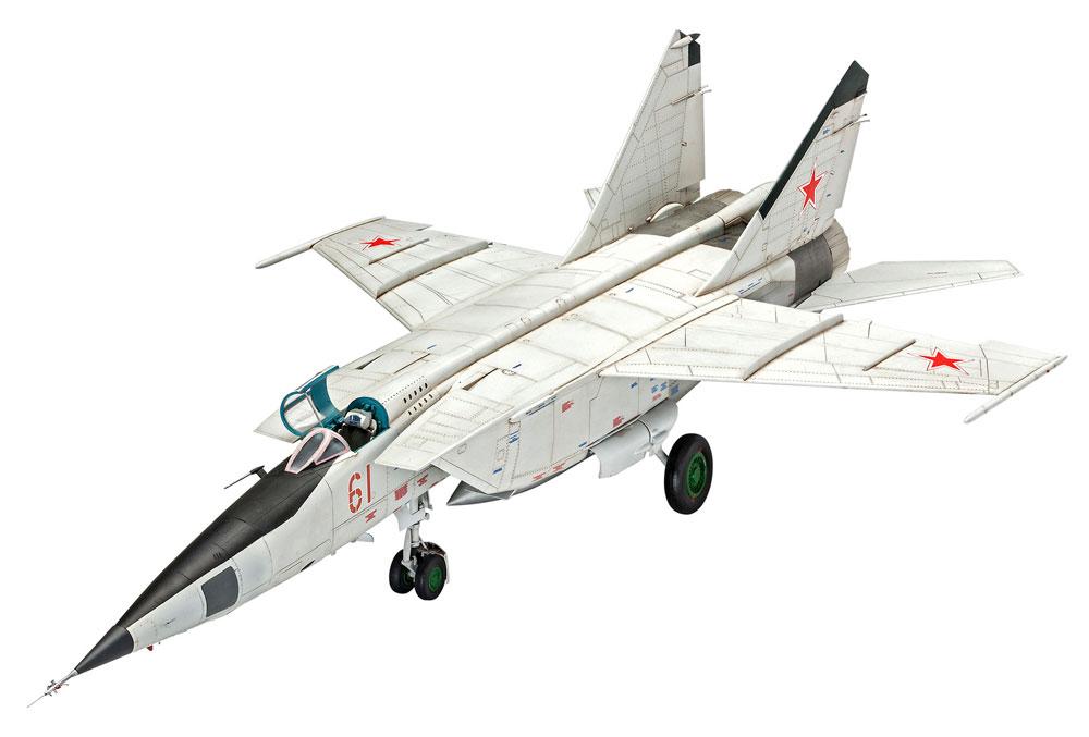 MiG-25 RBT フォックスバット Bプラモデル(レベル1/72 AircraftNo.03878)商品画像_2