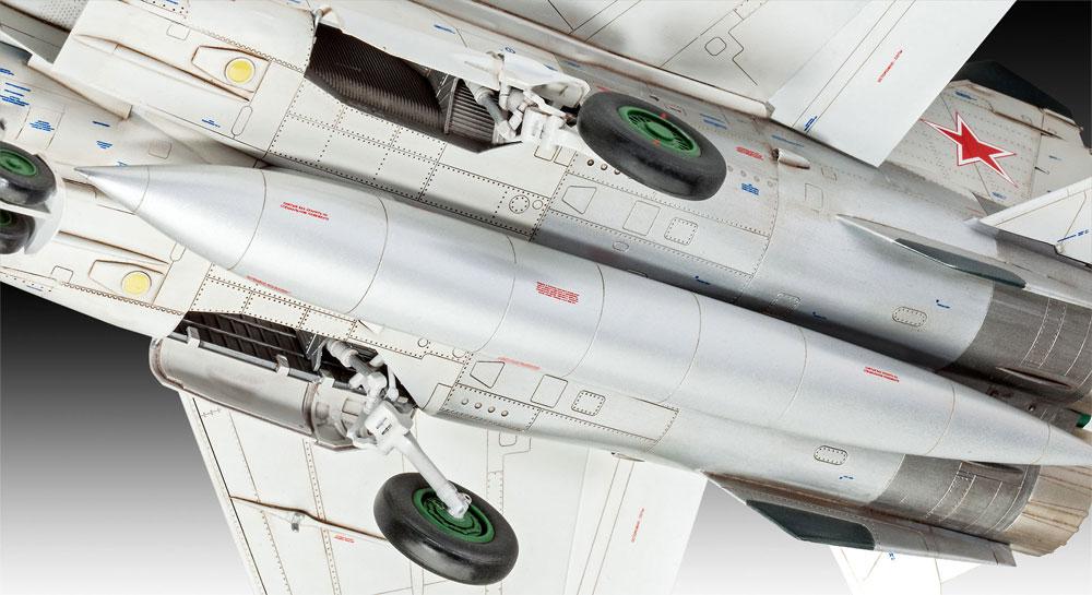 MiG-25 RBT フォックスバット Bプラモデル(レベル1/72 AircraftNo.03878)商品画像_3