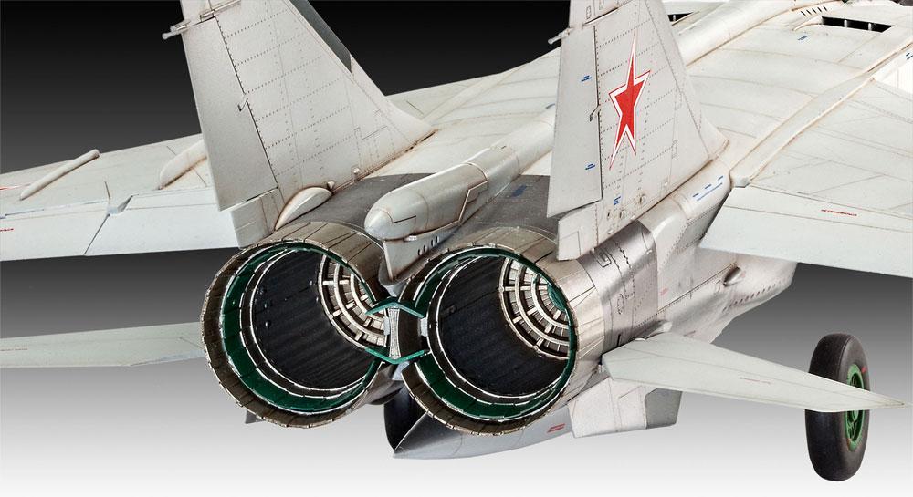 MiG-25 RBT フォックスバット Bプラモデル(レベル1/72 AircraftNo.03878)商品画像_4