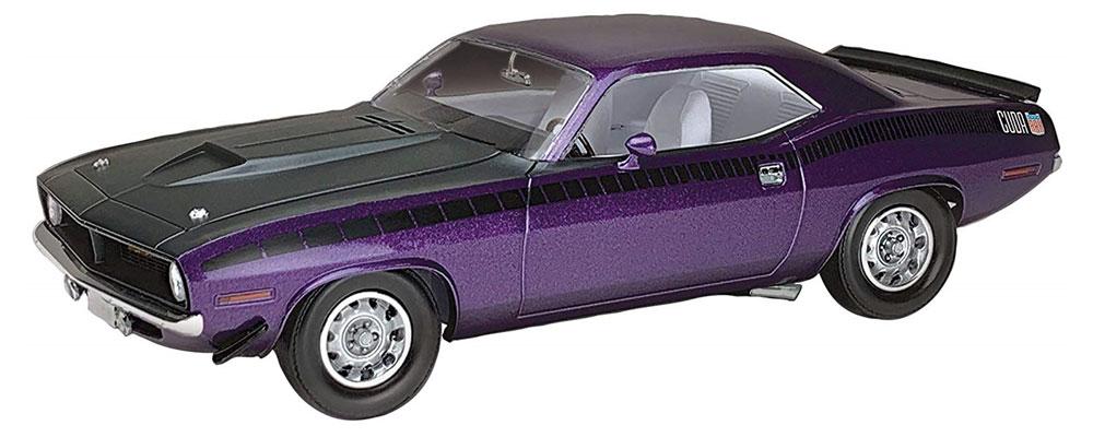1970 プリムス AAR クーダプラモデル(レベルカーモデルNo.07664)商品画像_2