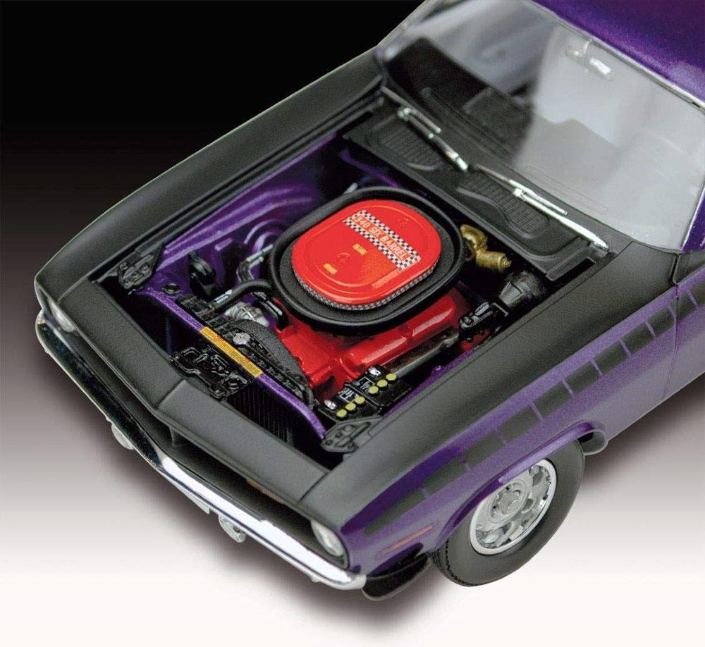 1970 プリムス AAR クーダプラモデル(レベルカーモデルNo.07664)商品画像_4