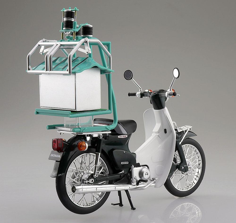 ホンダ スーパーカブ 出前機付完成品(アオシマ1/12 完成品バイクシリーズNo.105672)商品画像_2