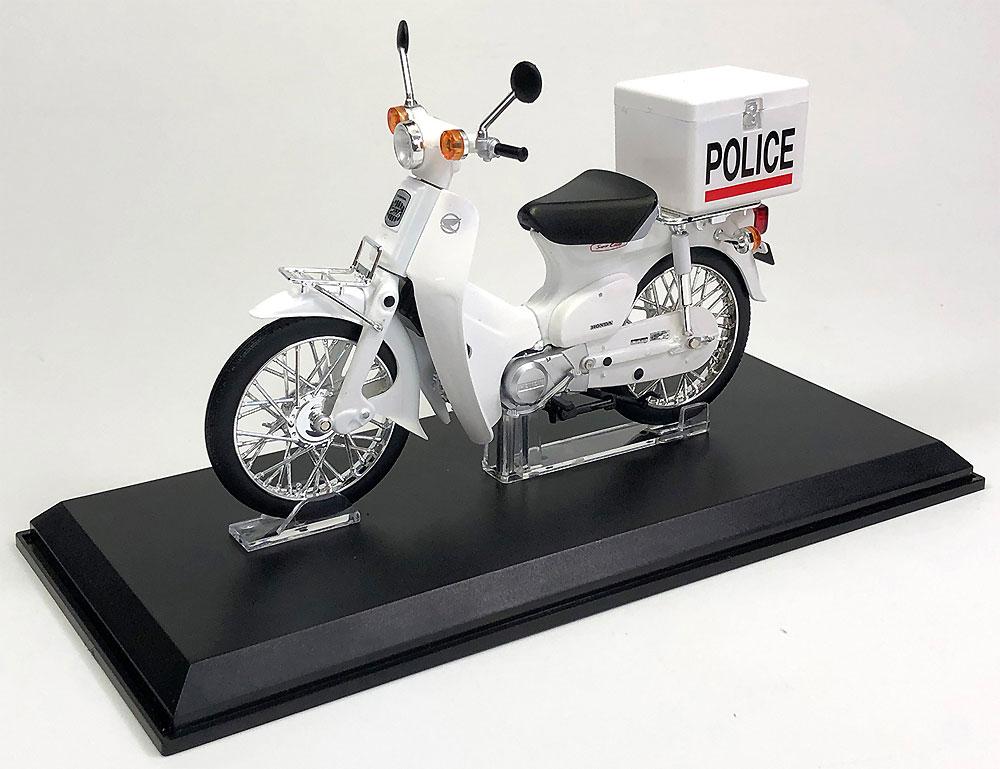ホンダ スーパーカブ ポリス仕様完成品(アオシマ1/12 完成品バイクシリーズNo.105689)商品画像_1