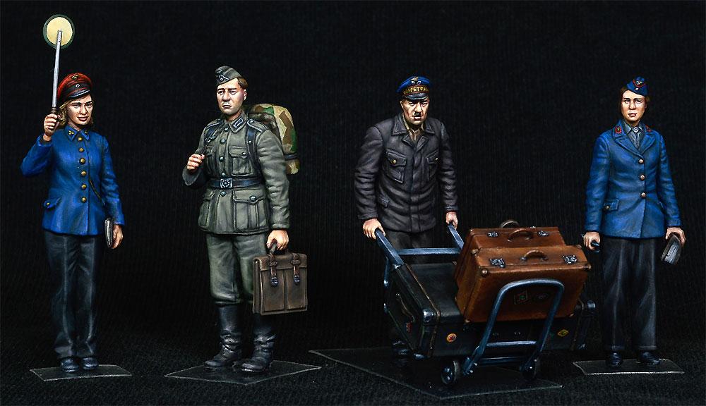 ドイツ 駅員 1930-40年代プラモデル(ミニアート1/35 ミニチュアシリーズNo.38010)商品画像_3