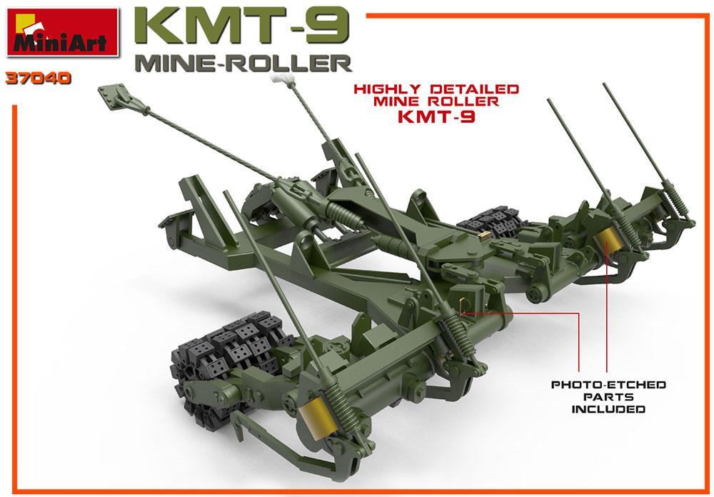 KMT-9 地雷処理装置プラモデル(ミニアート1/35 ミリタリーミニチュアNo.37040)商品画像_2