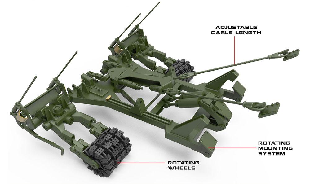 KMT-9 地雷処理装置プラモデル(ミニアート1/35 ミリタリーミニチュアNo.37040)商品画像_3