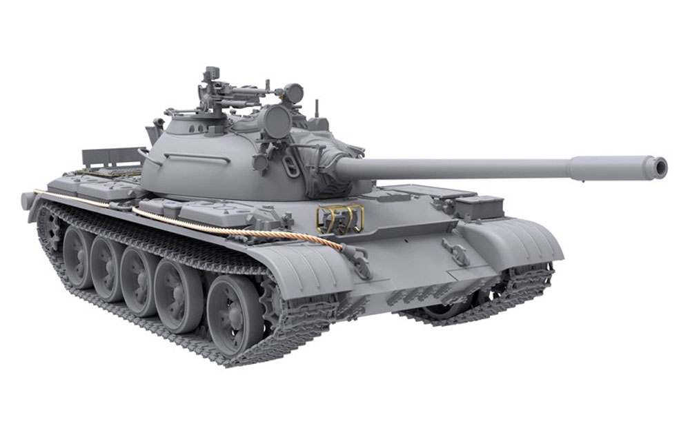 T-54B 中期型 プラモデル (アモ Limited Edition Plastic model kit No.A.MIG-8502) 商品画像_4